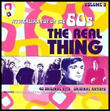 60's (2 CD) THE REAL THING - AUSTRALIAN POP OF THE 60's - Volume 3 *NEW*