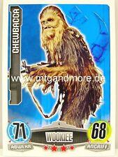 Force Attax Movie Card - Chewbacca #004