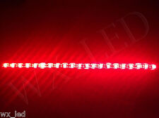2 x Universal 194 168 921 157 T10 T15 14'' with 5050 SMD 21 led Strip Red *
