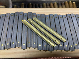 100 5.56 .223 USGI Stripper Clips Once Used W/Speed Loaders Grade B