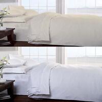 100% EGYPTIAN COTTON SATEEN Luxurious 400 Thread Count Soft Flat Bed Sheet