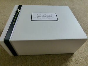 Condolence Bereavement Large Personalised Keepsake Box Memory Box Funeral **
