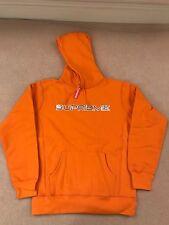 Supreme S/S 17 - Sequin Logo Hoodie - Large - Orange - IN HAND DSWT Hoody