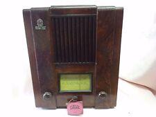 Rara RADIO EPOCA Valvole Italiana SAFAR 521 INA del 1935 REVISIONATA FUNZIONANTE