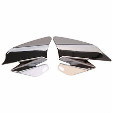 Chrome Saddle Shield Air Heat Deflector for 2008 Harley Touring FLHT FLHR FLHX