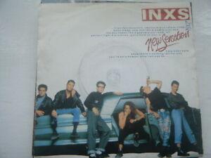 "INXS - NEW SENSATION - 7"" SINGLE - ROCK / 80'S / SOFT ROCK"