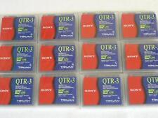 Job Lot of 12x Sony QTR-3 Travan 1.6 / 3.2GB New Sealed Data Cartridge