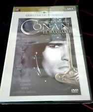 CONAN EL BARBARO - DVD - SCHWARZENEGGER - CINE DE EL MUNDO -  ESPADA Y BRUJERIA