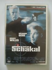 DVD - Der Schakal - Richard Gere - Bruce Willis