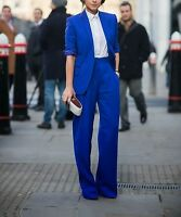 Royal Blue Women Ladies Business Office Tuxedos Work Wear New Suits Custom Made