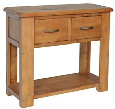 Console Table, 2 Drawers, pine, rustic, NEW & FULLY ASSEMBLED