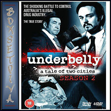 UNDERBELLY - COMPLETE SERIES 2 - A TALE OF TWO CITIES  *BRAND NEW DVD **