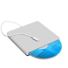Confoly USB-C Superdrive External DVD/CD Rewriter Drive USB External DVD/CD Driv