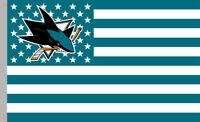 San Jose Sharks Hockey Team Memorable S&S Flag 90x150cm3x5ft Best Banner