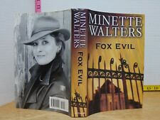 Fox Evil by Minette Walters (2003, Hardcover) 1st American Edition