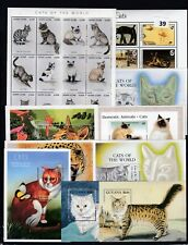 OA 10S/S ANIMALS - CATS - MNH - PETS - CATS OF THE WORLD - WHOLESALE