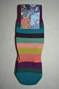 "Paul Smith Mens Artist Stripe Cycling Socks ""M"" Brand New"