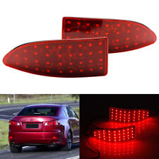 LED Lens Rear Bumper Reflector Drive Brake Light for Lexus IS250 IS350 2006-2013