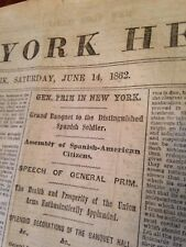 Civil War Original Newspaper The New York Herald June, 1862