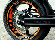 Wheel Sticker KTM Superduke 950 990 SMR SM RC8 SDR Supermoto Rim Stripes Tape