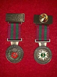 CORAL & BALMORAL Battle 50th ANNIVERSARY MEDAL