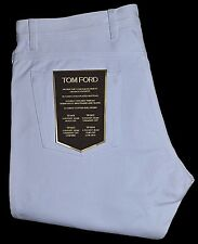 "TOM FORD 18-Carat Gold Button Slim Fit Jeans TF004, White 38"" ITALY $830"