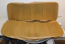 1973-1979 Ford F100 F150 F250 XLT Ranger NOS SANDALWOOD BENCH SEAT UPHOLSTERY