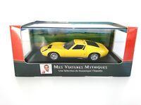 Lamborghini Miura P400 1966 1:43 - LES VOITURES MYTHIQUES ATLAS CHAPATTE DIECAST