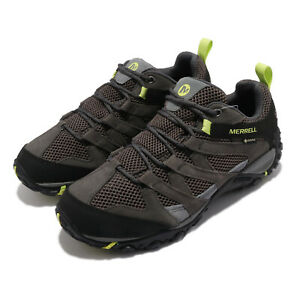 Merrell Alverstone GTX Gore-Tex Grey Black Men Outdoors Hiking Shoes J036215