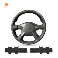 PU Leather Steering Wheel Cover for Nissan Almera Pathfinder Paladin Terrano 2