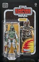 "Star Wars Black Series 6"" Boba Fett Carded Figure ESB 40th Anniv IN STOCK"