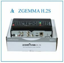 ORIGINAL ZGEMMA-H-2S-Dual -Core SATELLITE-RECEIVER FREE TO AIR