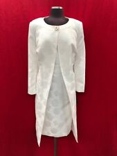 """JOHN MEYER DRESS SUIT /WHITE/SIZE 22W/LENGTH 43""""/LINED/PLUS SIZE/NEW WITH TAG"""
