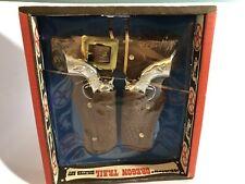 Hubley Oregon Trail Holster Set Sealed Toy Cowboy guy with belt RARE NIB