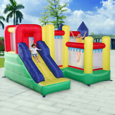 Mighty Inflatable Bounce House Castle Jumper Moonwalk Bouncer Without Blower
