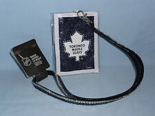 TORONTO MAPLE LEAFS   Beaded LANYARD I.D. WALLET    by Rico   NIP