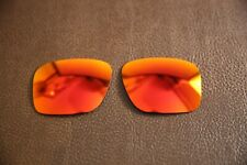 PolarLens POLARIZED Fire Red Replacement Lens for-Oakley Holbrook XL sunglasses