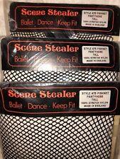 Scene Stealer fishnet tights black Dance Ballet Halloween size tall