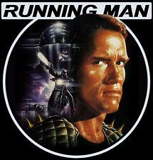 80's Schwarzenegger Sci-Fi Classic The Running Man Poster Art custom tee AnySize