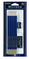 HELIX OXFORD STATIONARY SET Executive Companion Eraser Sharpener School Office
