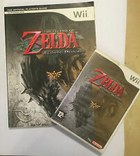Nintendo Wii Game & guía de estrategia The Legend of Zelda Twilight Princess PAL