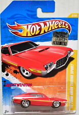 HOT WHEELS 2011 NEW MODELS '72 FORD GRAN TORINO SPORT RED FACTORY SEALED