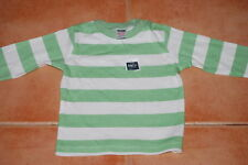 M&Co Striped 100% Cotton Clothing (0-24 Months) for Boys