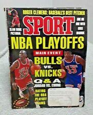 New listing Sport Magazine May 1993 NBA Playoffs Jordan Ewing