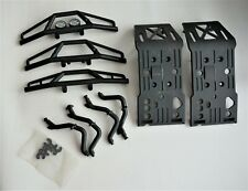HPI SAVAGE Xl , X  FRONT AND REAR SKID PLATE AND BUMPER SET BRAND NEW