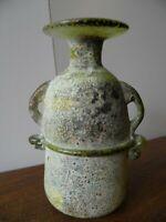 vase en verre romaine