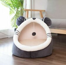 Warm Pet Dog Cat House Bed Sofa Tent Cushion Mat Removable Kitty Puppy