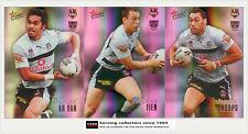 2007 SELECT NRL CHAMPIONS CARDS HOLOFOIL TEAM SET: Warriors (12)**