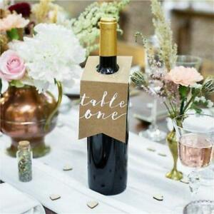 Table Numbers Decorations | 10 pieces
