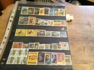 Ghana Used Stamps Lot